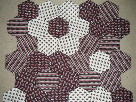 Patchwork Hexagons - zo 235 hexagon patchwork cushion sew make believe