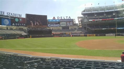 comfort keepers sumter sc yankee stadium section 126 28 images field level