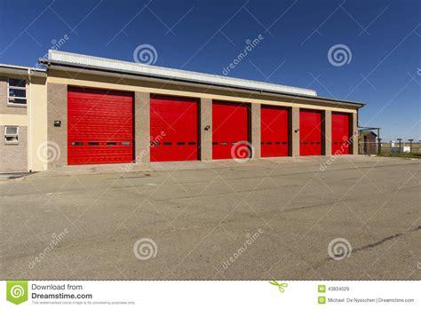 industrial garage industrial garage door warehouse stock photo image 43834029