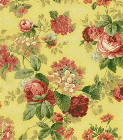 yellow home decor fabric home decor print fabric julia yellow jo ann