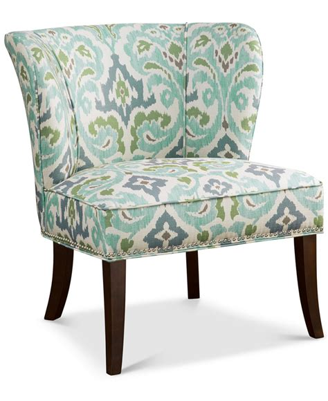 Turquoise Accent Chair Blue Green Janie Armless Accent Chair Everything Turquoise