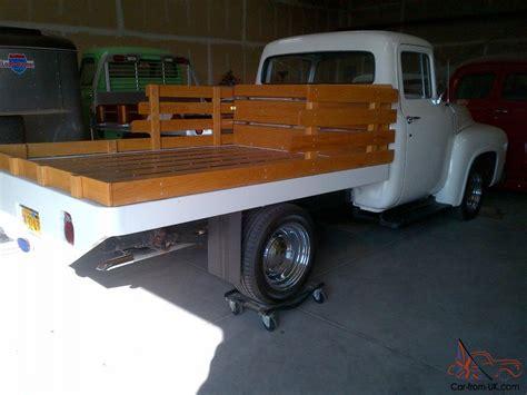 Custom Trucker Flat By Devapishop 1956 ford f 100 quot custom quot flatbed truck