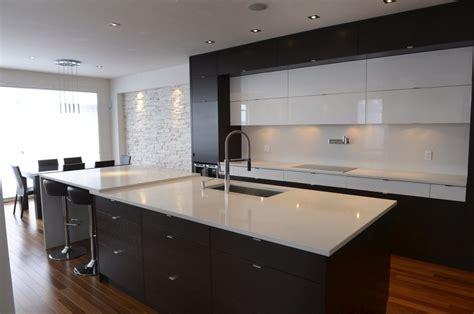 comptoir de cuisine quartz blanc 1000 images about cuisine contemporaine on