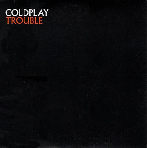 coldplay trouble coldplay trouble uk promo cd single cd5 5 quot 165867
