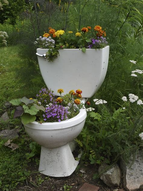 Potty Planters by Farm Rusted Busted Never Dusted Hermitsdoor