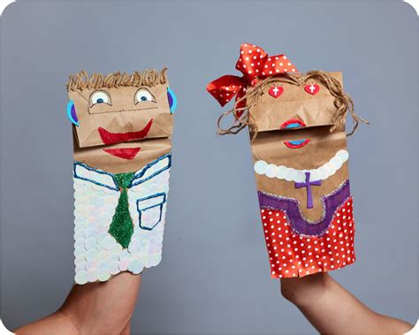 How To Make A Paper Bag Puppet Of A Person - best photos of paper bag puppets paper bag puppet