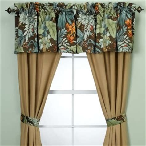 tropical curtains window treatments buy tropical window treatments from bed bath beyond