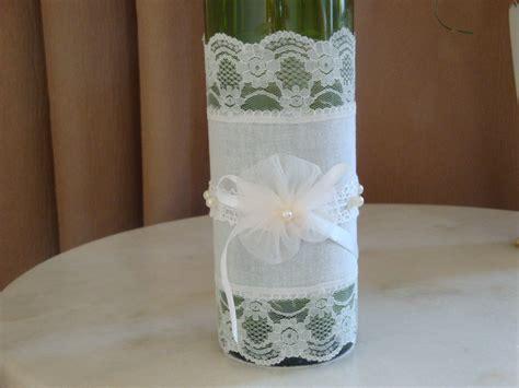 decorar garrafas de vidro renda garrafas decoradas renda veja 90 fotos incr 237 veis