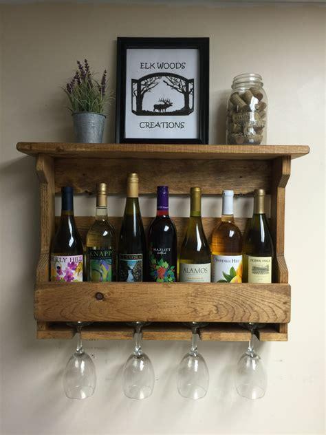 Wood Wine Glass Rack by Wooden Wine Rack Wine Rack Wine Glass Rack Country Decor