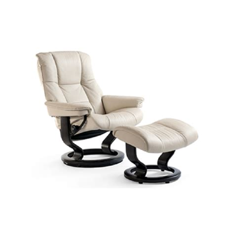 stressless mayfair recliner and ottoman decorum
