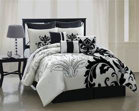White Comforter Bedroom Beautiful Black And White Flower Bedding With Modern