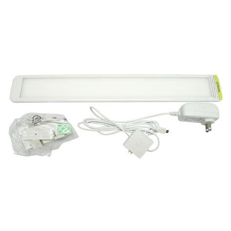 sylvania under cabinet lighting sylvania 72437 18 quot white 3000k led under cabinet light