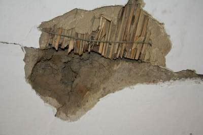 strohdecke sanieren alte decke ausbessern