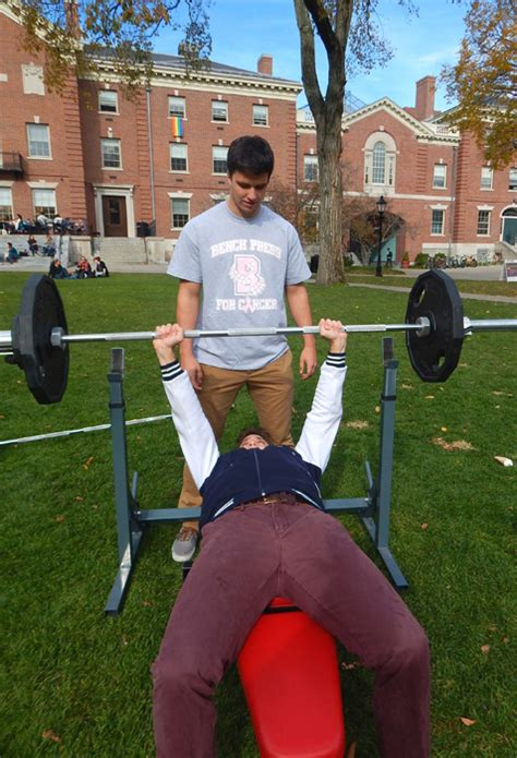 college football bench press news from the miriam hospital