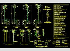 Electricity details - electric pole in AutoCAD | CAD (467 ... Electrical Transformer Calculations