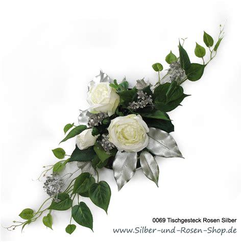 Tischgestecke Hochzeit by Deko Silberhochzeit Silber Und Shop