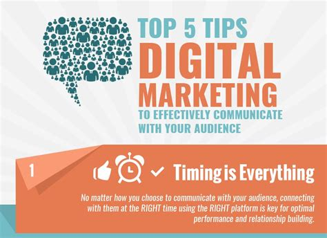 top 5 tips digital marketing to effectively communicate