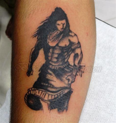 body tattoo of lord shiva black poison