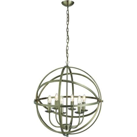 Orbit Lighting by Searchlight Lighting Orbit 6 Light Ceiling Pendant Light