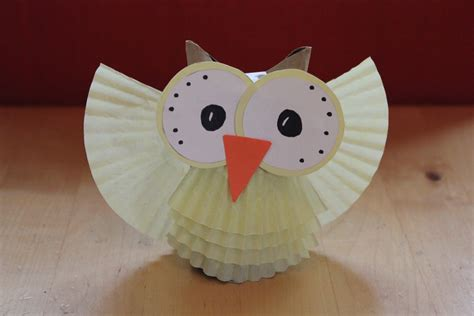 Owl Craft Paper - paper owl craft paper crafts