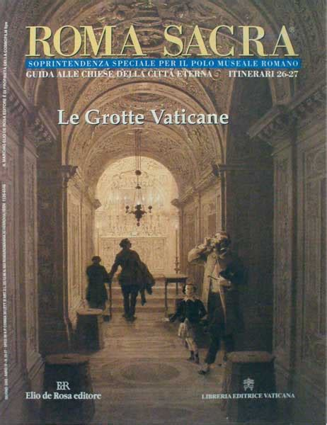 libreria vaticana roma roma sacra le grotte vaticane libro vaticanum