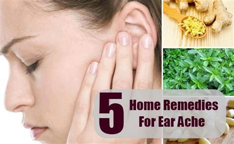 5 home remedies for ear ache treatment and cure for ear