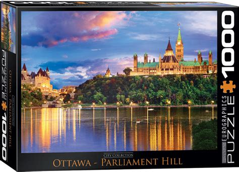 puzzles eurographics ottawa parliament hill hobbies and