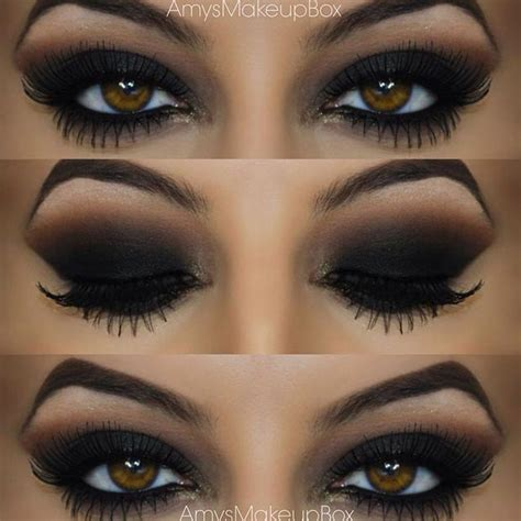 10 Black Smokey Eye Tips by 40 Eye Makeup Looks For Brown Stayglam