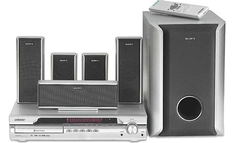 sony dav dx255 5 disc dvd home theater system at