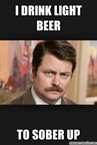 Beer Meme - i drink light beer