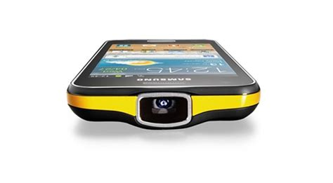 mobile phones with projector samsung galaxy beam projector phone now available at rs