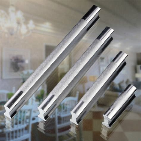 two tone cabinet hardware 64mm top quality fashion design aluminium two tone