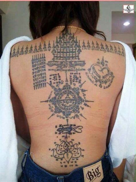 thai tattoo and meaning sak yant girl sak yant pinterest tattoo girls and