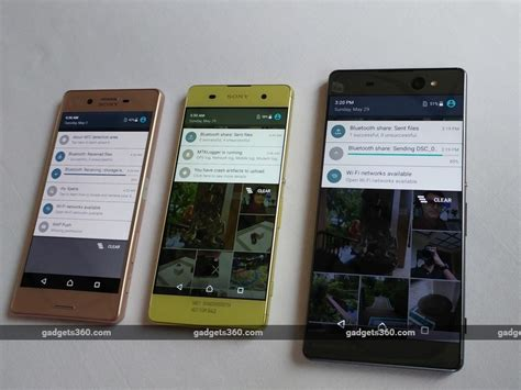 ndtv mobile compare sony xperia x dual impressions ndtv gadgets360