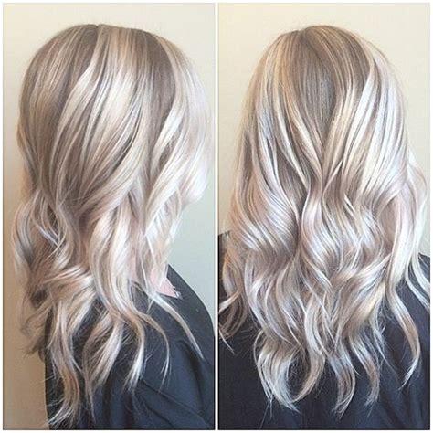 trendy blonde highlights 2013 20 trendy hair color ideas for women 2017 platinum