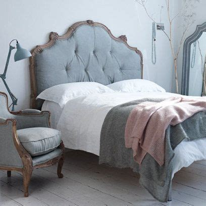 go to bed in french 25 best ideas about grey upholstered headboards on