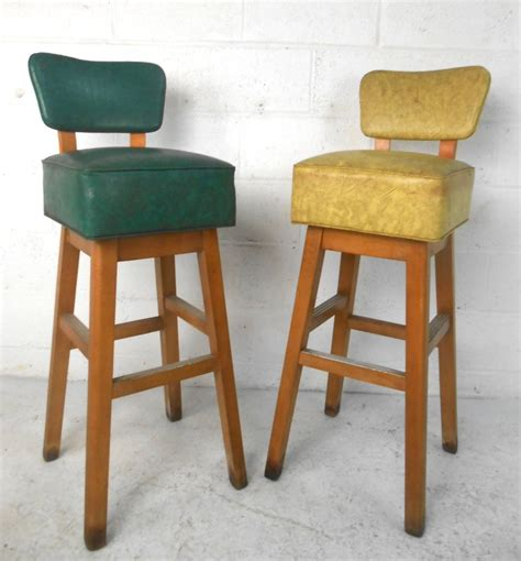 furniture attractive mid century bar stools for modern