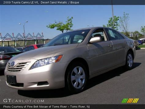 2009 Toyota Camry Le V6 Desert Sand Metallic 2009 Toyota Camry Le V6 Bisque