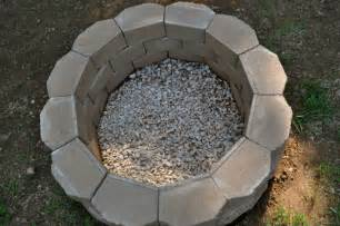 Cheap Diy Firepit How To Build A Back Yard Diy Pit It S Easy The Garden Glove
