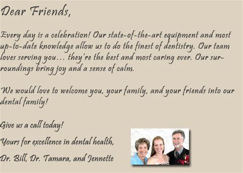 New Patient Welcome Letter Dental Office Welcome Letter Template Images