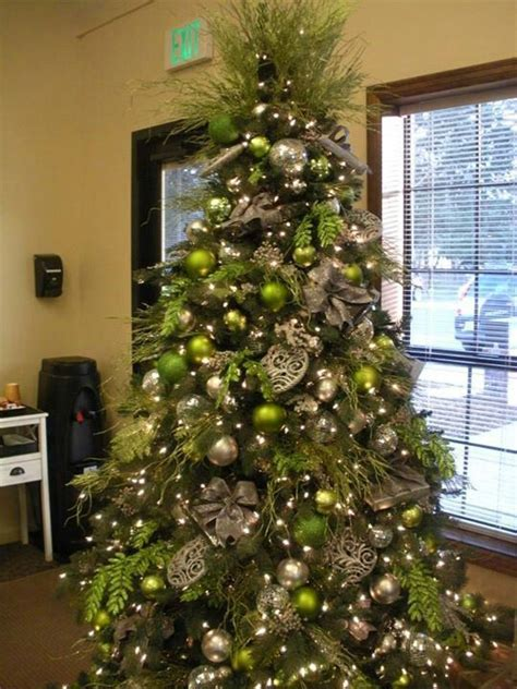 green  silver   office  nwc christmas ideas pinterest silver christmas