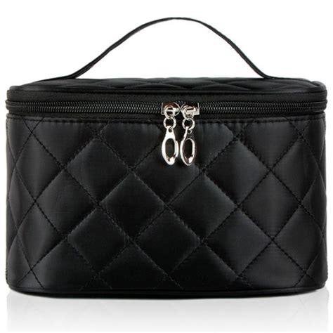Tas Make Up Travel Wanita tas kosmetik travel kulit wanita black jakartanotebook