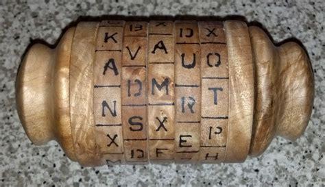 Cryptex Puzzle By Utama Craft lathe turned cryptex keeps your secrets safe make