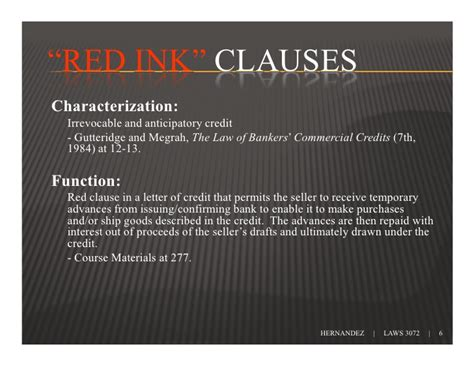 Letter Of Credit Clause In A Contract Clause Letters Of Credit