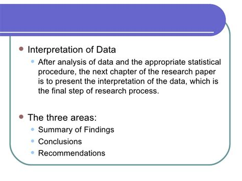 presentation analysis and interpretation of data in research paper chapter 10 data analysis presentation
