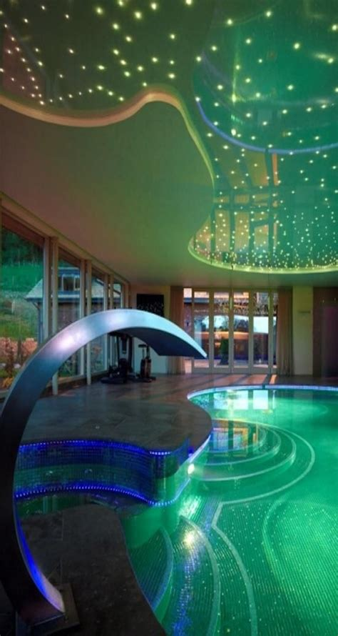 awesome indoor pools this ceiling the pool is out of my reach