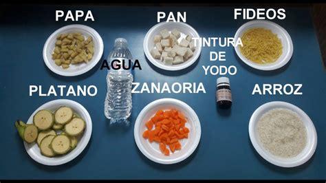experimentos con alimentos experimento para identificar almid 243 n en los alimentos