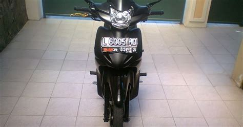 Lu Vario Techno modifikasi motor absolute revo black modifikasi motor