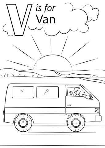 V Is For Coloring Page by V Is For Coloring Page Free Printable Coloring Pages
