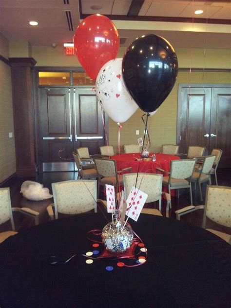 casino centerpieces casino centerpieces prom 2013 high roller